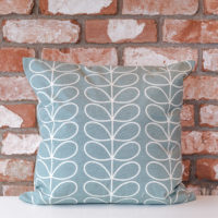 Moyseys - Duck egg blue cushion