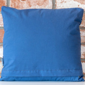 Navy fish cushion