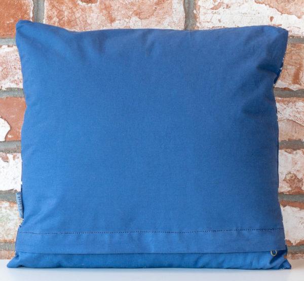 Navy fish cushion