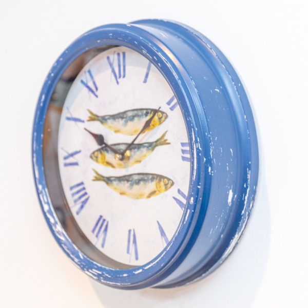 Blue mackeral clock