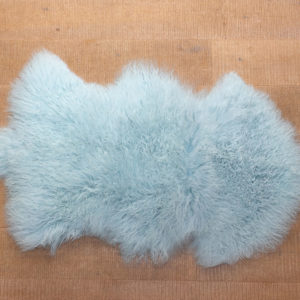 Blue sheep skin