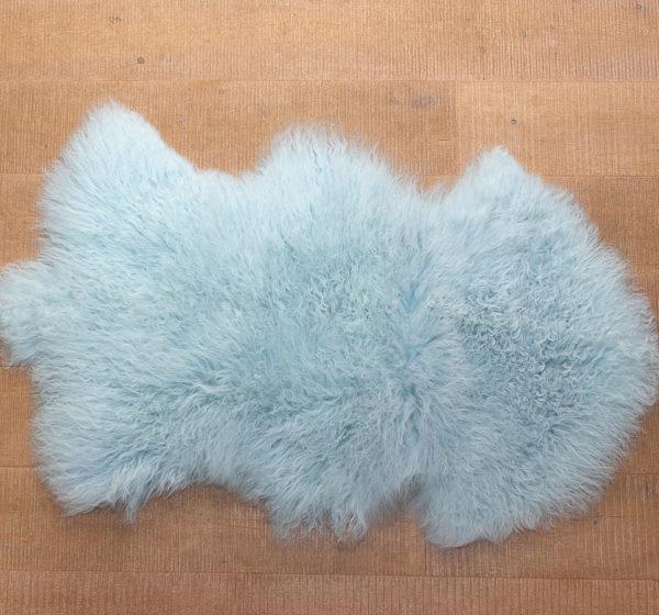 Blue sheep skin